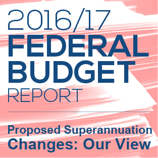 2016/17 Federal Budget Report