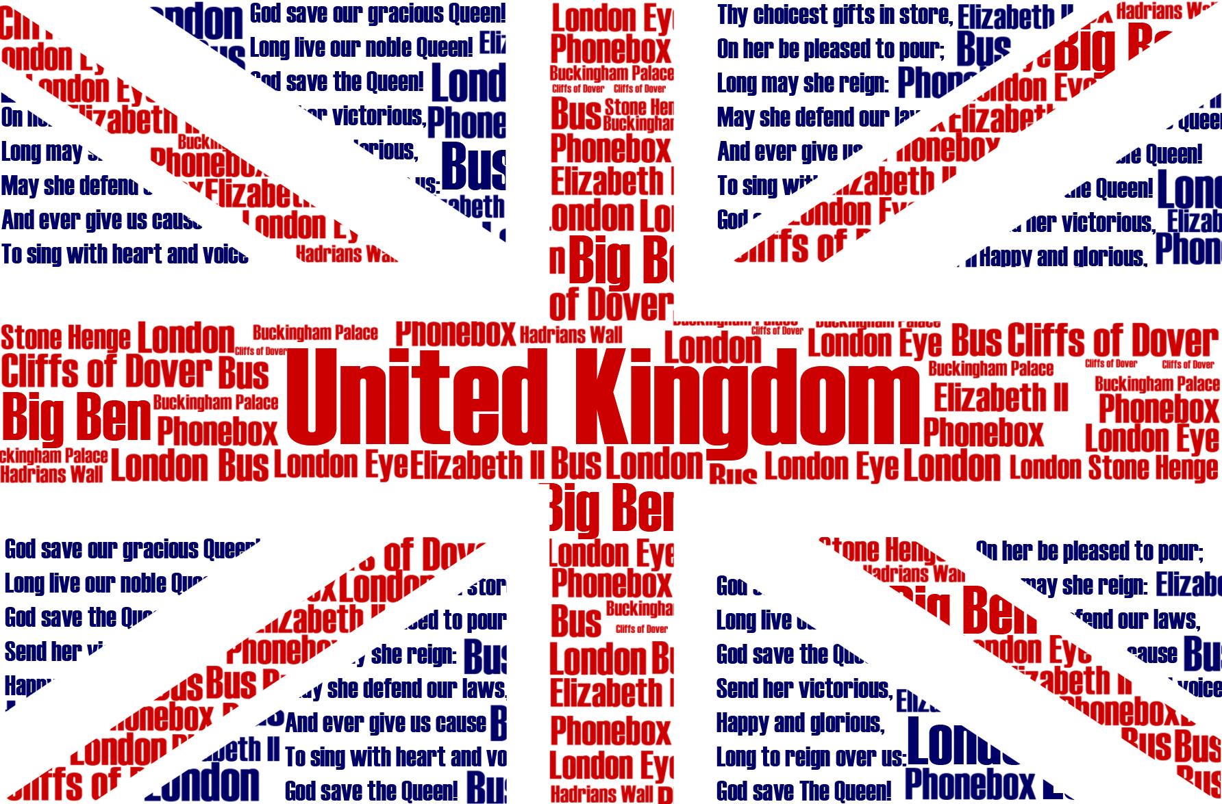 illustration of the united kingdoms flag