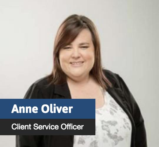 Anne Oliver - Client Service Officer