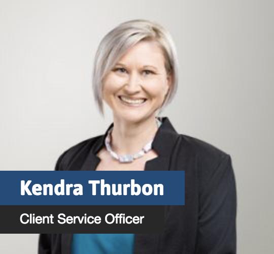Kendra Thurbon - Client Service Officer