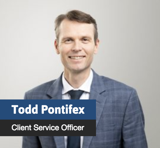 Todd Pontifex - Client Service Officer