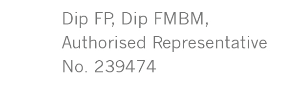 Dip FP, Dip FMBM, Authorised Representative No. 239474